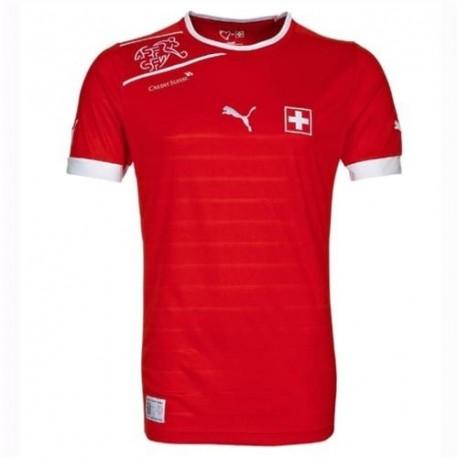 Fútbol Jersey Suiza 2012/13 Inicio por Puma