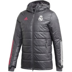 Real Madrid training bench jacket 2020/21 - Adidas