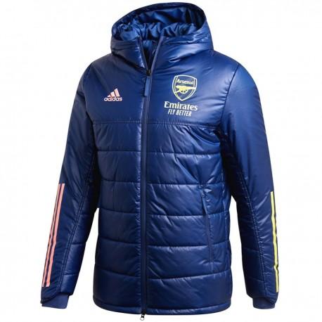 Arsenal FC training bench jacket 2020/21 - Adidas