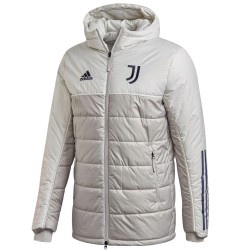 Juventus training bench jacket 2020/21 - Adidas