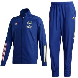 Survetement de presentation Arsenal 2020/21 bleu - Adidas