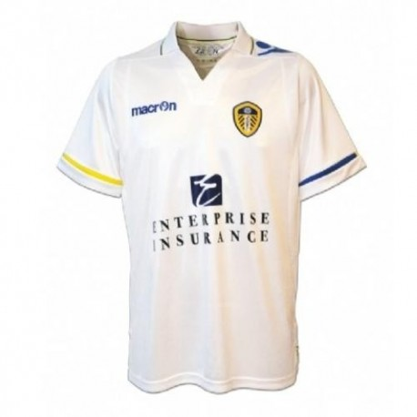 Leeds United Fc Home Jersey 11 12 Macron Sportingplus Passion For Sport