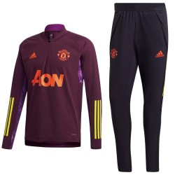 Chandal tecnico entreno Manchester United UCL 2020/21 - Adidas