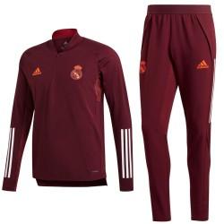 Chandal tecnico entreno Real Madrid UCL 2020/21 - Adidas