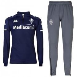 Tuta tecnica da allenamento blu AC Fiorentina 2020/21 - Kappa