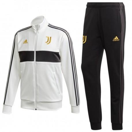 Juventus 3s Casual presentation tracksuit 2020/21 - Adidas