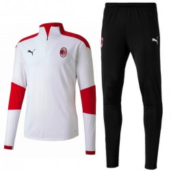AC Milan white technical training tracksuit 2020/21 - Puma