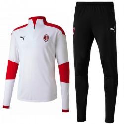 Survetement Tech d'entrainement AC Milan 2020/21 blanc - Puma