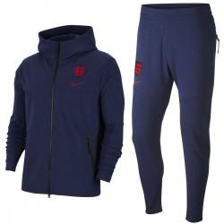 Tuta da rappresentanza Inghilterra Tech Fleece 2020/21 - Nike