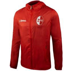 Bari FC football red training rain jacket 2017/18 - Zeus