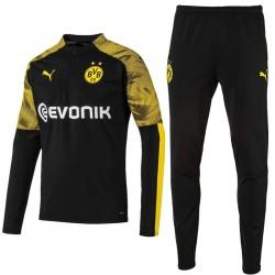 Survêtement Tech entrainement Borussia Dortmund 2019/20 noir - Puma