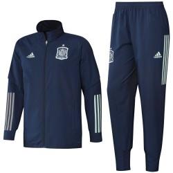 Tuta da rappresentanza blu Nazionale Spagna 2020/21 - Adidas