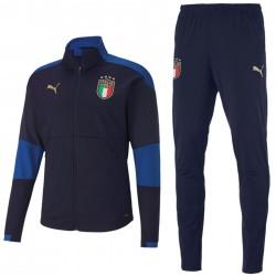 Tuta tecnica allenamento blu nazionale Italia 2020/21 - Puma