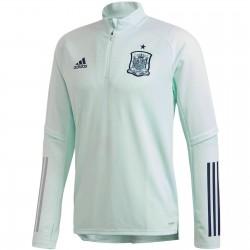 Tech sweat d'entrainement Espagne 2020/21 bleu eau - Adidas