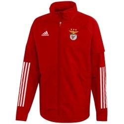 Veste coupe pluie entrainement Benfica 2020/21 - Adidas