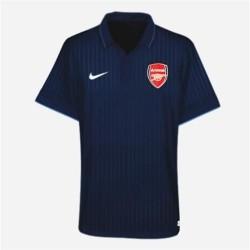 Camiseta de Arsenal FC lejos 2009/10 Player race tema por Nike