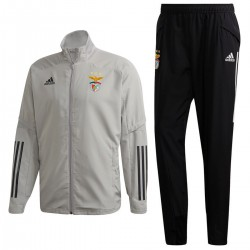 Benfica grey training presentation tracksuit 2020/21 - Adidas