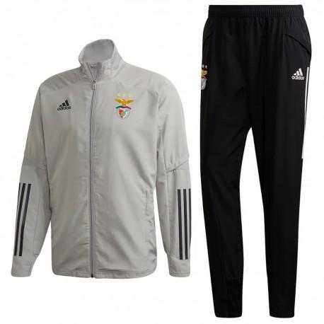 Chandal de presentación Benfica 2020/21 gris - Adidas