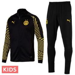 Ragazzo - Tuta allenamento nera pre-match Borussia Dortmund 2018/19 - Puma