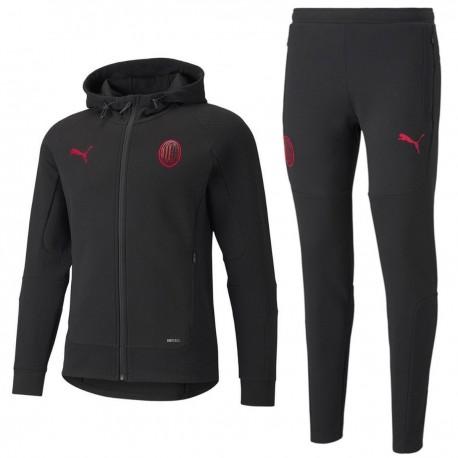 Chandal de presentación casual AC Milan 2021/22 negro - Puma