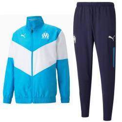 Olympique Marseille training presentation tracksuit 2021/22 - Puma