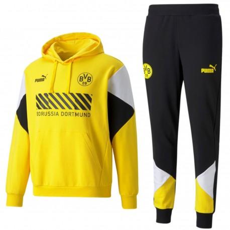 BVB Borussia Dortmund Casual presentation tracksuit 2021/22 - Puma