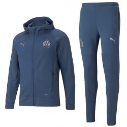 Olympique Marseille EU casual presentation sweat tracksuit 2021/22 - Puma