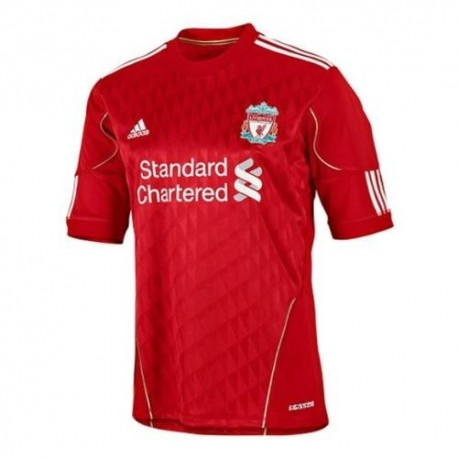 Liverpool Fc Home shirt 2010/12 Techfit Player race Issue by Adidas