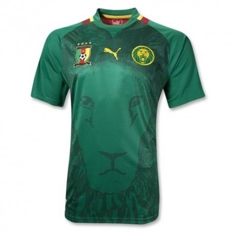National Fußball Trikot Home 2012/13 Kamerun Puma