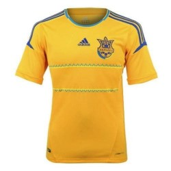 Ukraine National Soccer Jersey Home 12/13 by Adidas