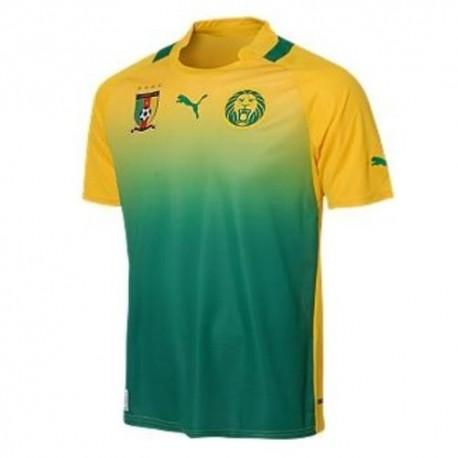 Cameroon National Soccer Jersey Away 2012/13 Pumas