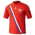 Russland Nationalmannschaft Fußball Trikot Home 12/13-Adidas