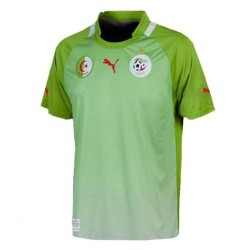 Algerien Fussball Trikot 2011/12 entfernt-Puma