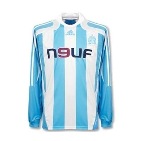 Olympique de Marseille auswärts Trikot 07/08 Player Issue für Rennen-Adidas