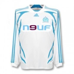 Olympique Marseille home Trikot 07/08 Player Issue für Rennen-Adidas