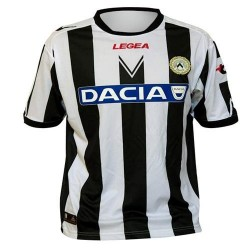 Football Jersey 2011/12 Udinese Home-Legea