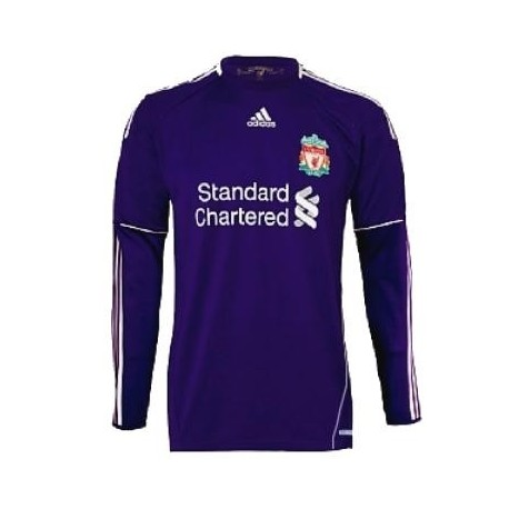 Liverpool Torwart Trikot 10/11 Away-Player Problem Techfit-Adidas
