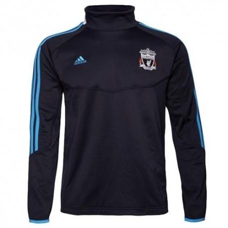 Felpa da allenamento Liverpool FC 11/12 Azzurro - Adidas