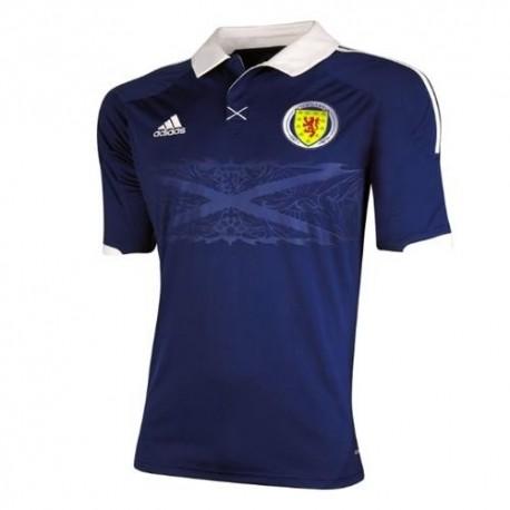 Escocia nacional Jersey Home/14/2012 por Adidas