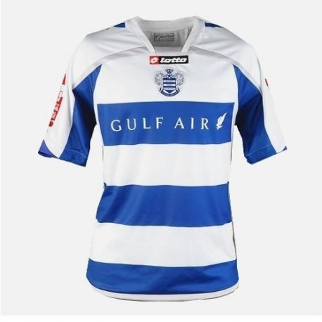 QPR Queens Park Rangers Soccer Jersey 2009/10 Home by Lotto