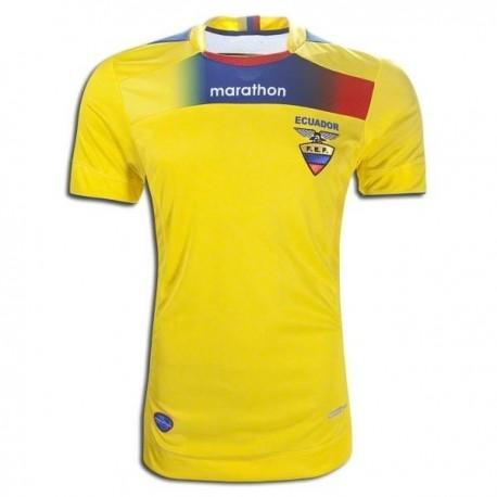 Ecuador Soccer Jersey 2011/12 Home by Marathon