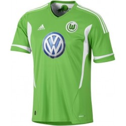 Wolfsburg Fußball Trikot 2011/12 Home von Adidas