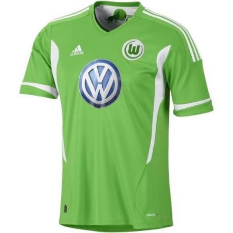 Maglia Calcio Wolfsburg 2011/12 Home by Adidas