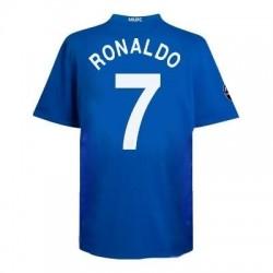 Camiseta Manchester United fuera tercera Uefa CL 08/09 jugador número da gara - Ronaldo 7