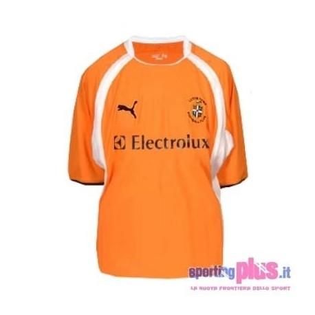 Luton Town FC Fußball Trikot 2007/08 Weg von Puma
