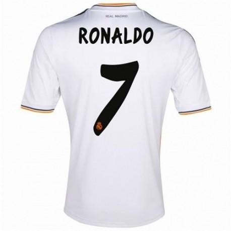 Maglia Real Madrid CF Home 2013/14 Ronaldo 7 - Adidas