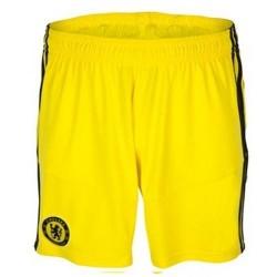 Chelsea FC goalkeeper shorts shorts Home 2013/14-Adidas