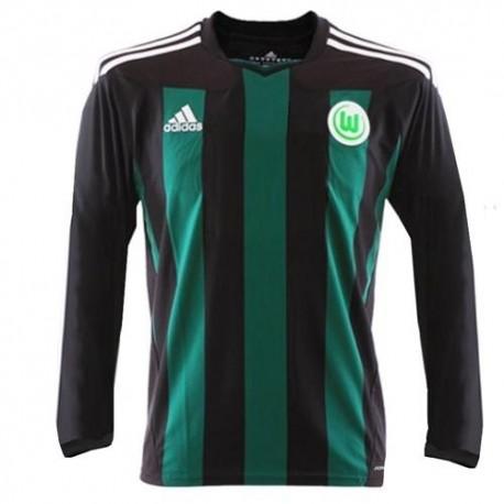 Wolfsburg Away Trikot 2011/12 Player Issue für Rennen-Adidas