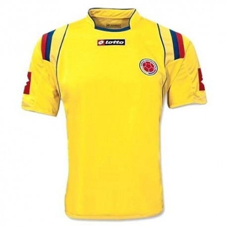 Kolumbien National Home Trikot 2009/10-Lotto