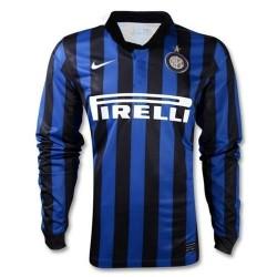 FC Inter maillot domicile 2011/12 joueur authentique race question L/s maillot-Nike